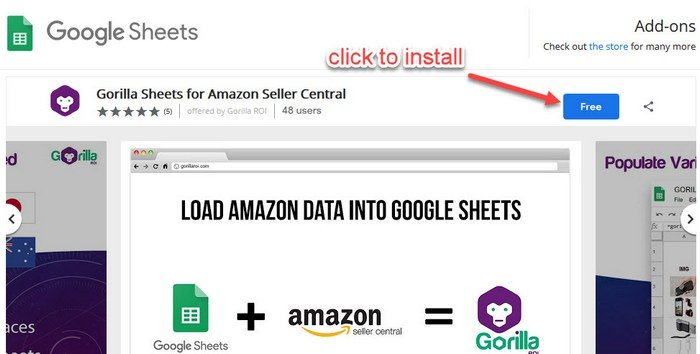 Load Amazon Best Sellers Rank (BSR) or Sales Rank into Google Sheets 1