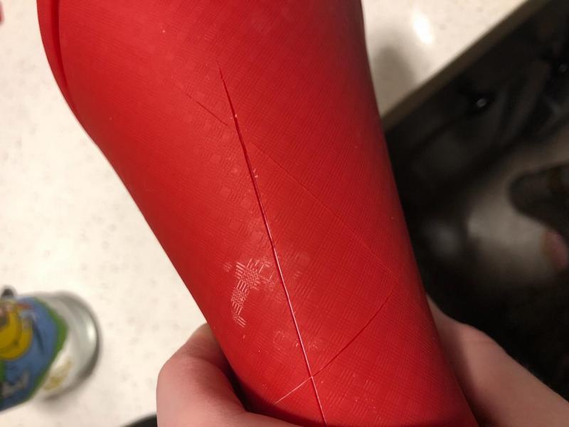 cut marks on silicone cutting board