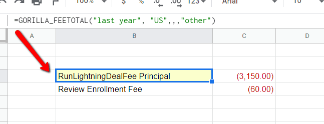 How to import Amazon seller fees into Google Sheets 1