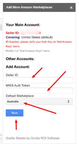 Can I setup multiple seller accounts? 2