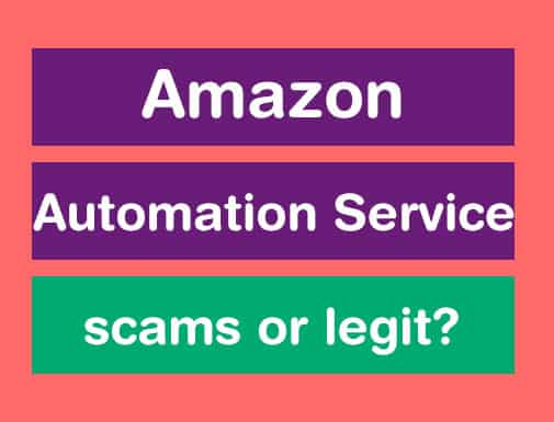 amazon automation scam