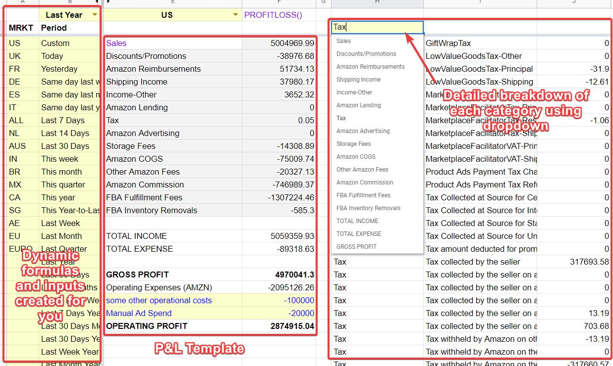 amazon profit calculator