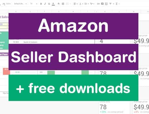 amazon seller dashboard
