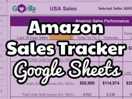 amazon sales tracker