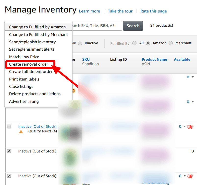 fba create removal order