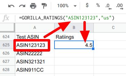 gorilla ratings in action 1 sku