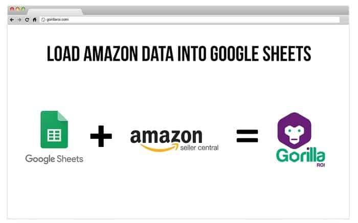 gorilla roi amazon google sheets integration