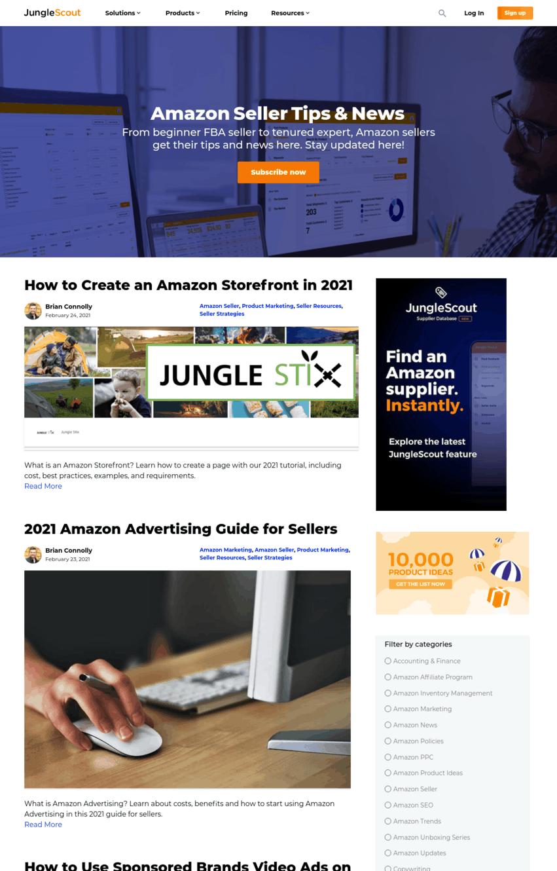 jungle scout blog