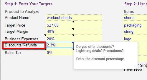 Free Amazon fee calculator and profit loss spreadsheet to maximize profits 2